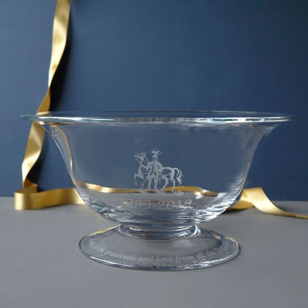 Alice Bowl with Crest