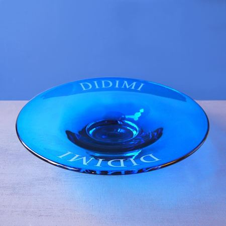 Personalised blue bowl
