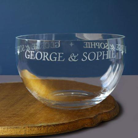 Personalised Wedding Bowl