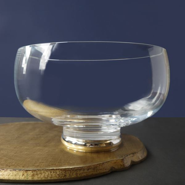 Silver Footed Juliet Bowl