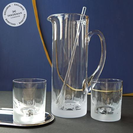 City Skyline jug & tumbler set