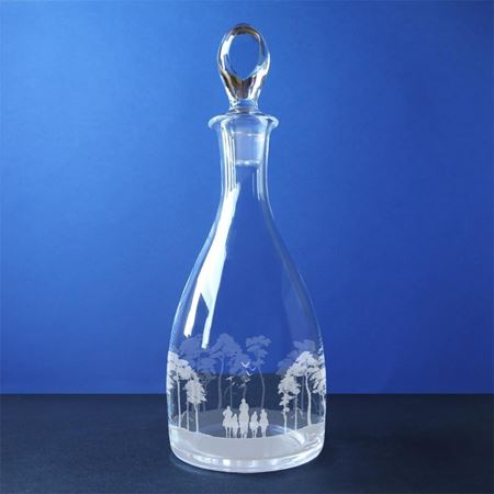 Racing Welfare Teardrop Decanter
