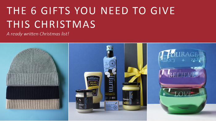 The 6 Gifts You Need to Give This Christmas - Christmas list ideas ready for you!