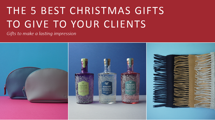 The 5 best Christmas gifts to give to your favourite clients!