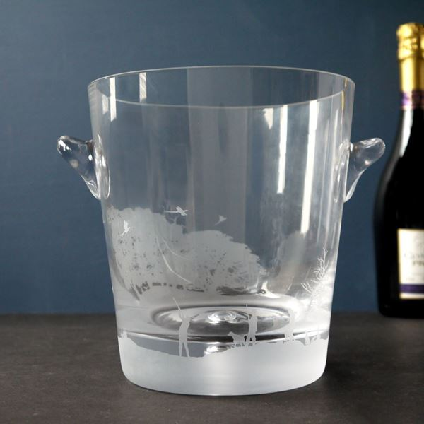 Country Sports Scene Champagne Cooler