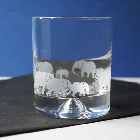 Conservation elephant tumbler