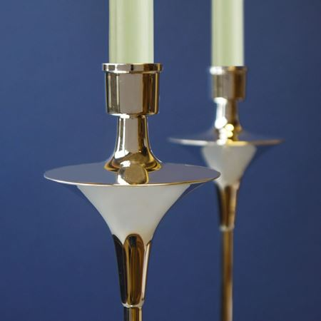 Richmond Tall Sterling Silver Candlesticks