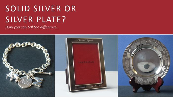 What's the difference between silver plate and sterling silver?