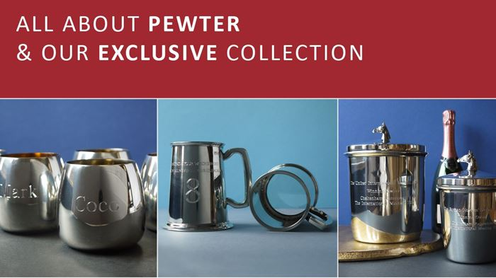 Pewter -  one of the most valuable metals in common use, after platinum, gold, and silver.