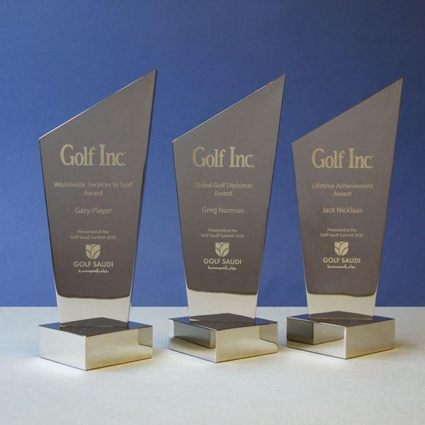 Pewter Golf Awards