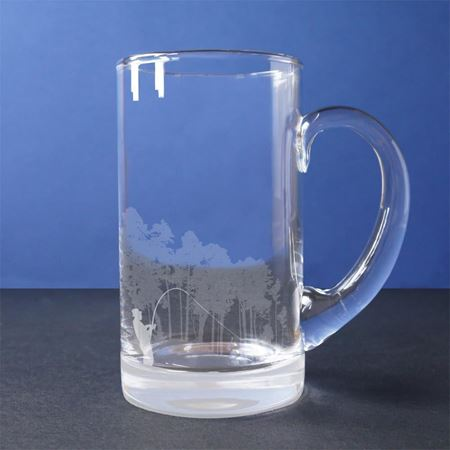 Country Sports Scene Tankard