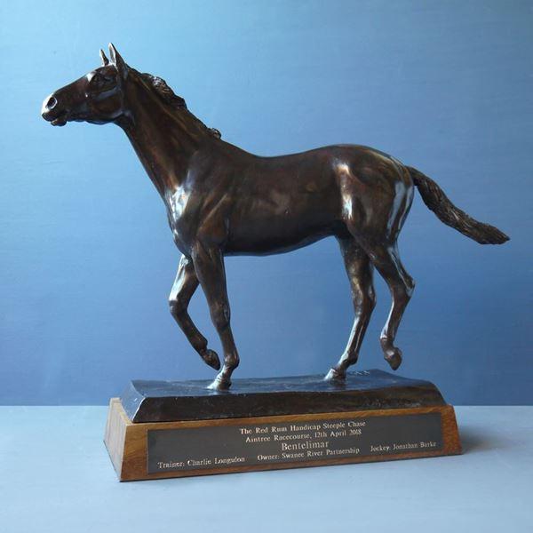 Red Rum Bronze Sculpture