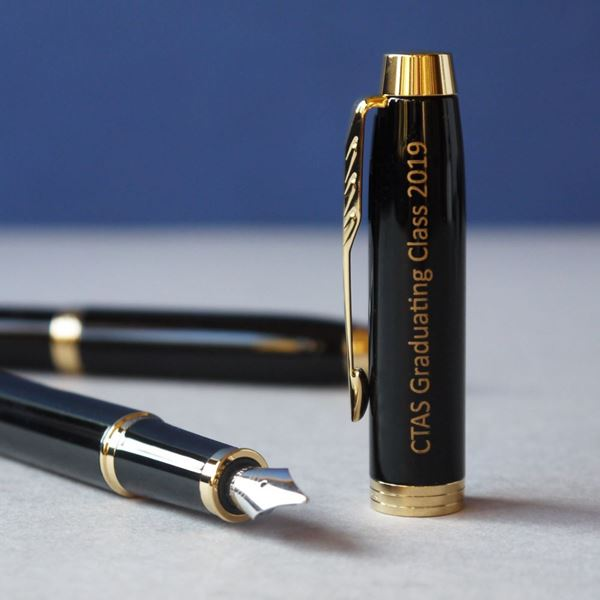 Picture of Black Resin Parker Fountain Pen