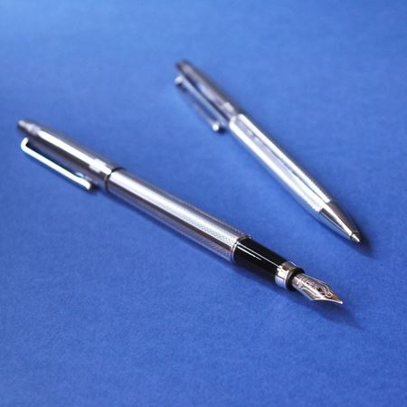 Moorgate Fountain & ballpoint pen set