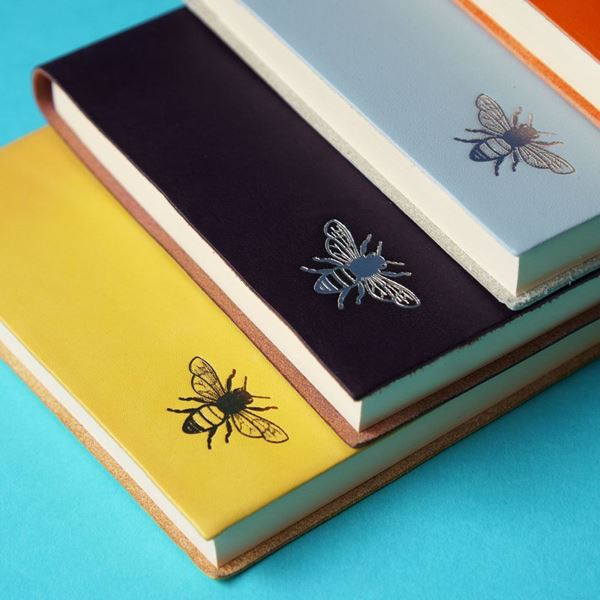 A5 Bee Leather Notebook