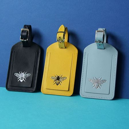 Bee Luggage Tag