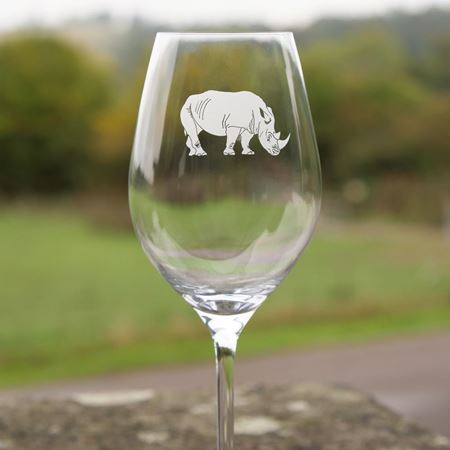 Tusk wine glass group