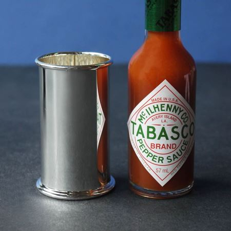 Picture of Solid Silver Tabasco Cover