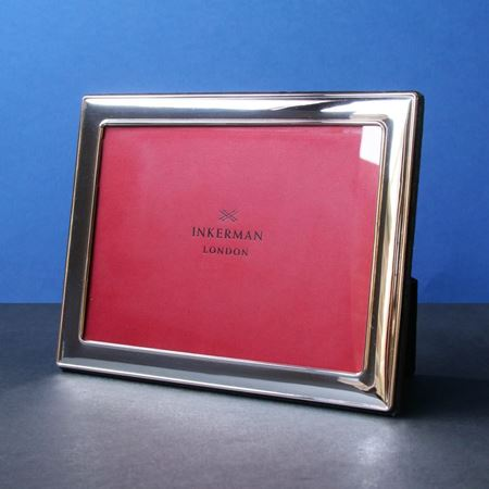 Sterling Silver Photograph Frames With Velvet Back