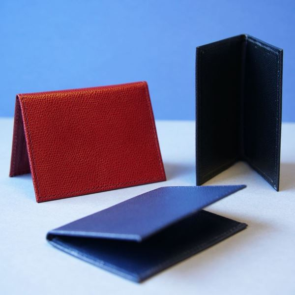 Picture of Leather Folding Card Case