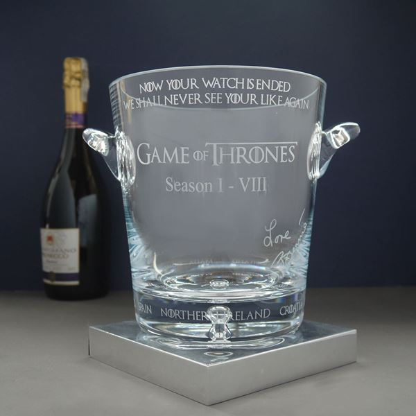 Personalised Champagne Cooler