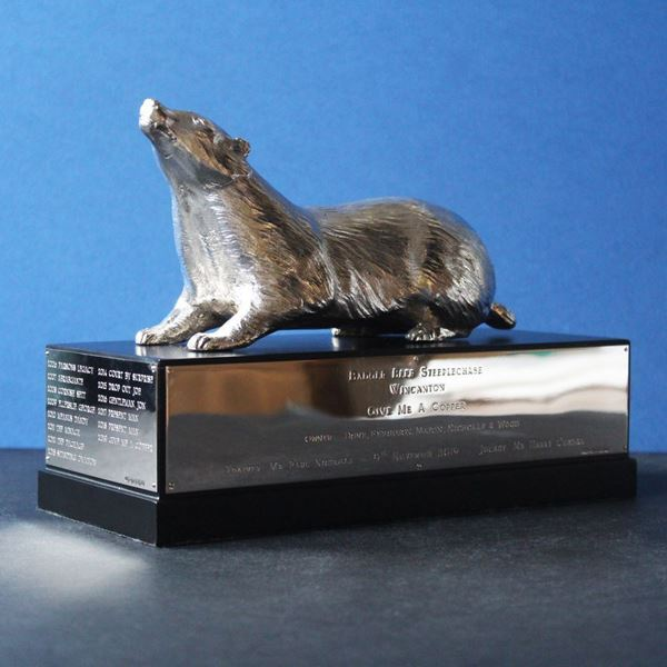 The Badger Beer Steeplechase Trophy Replica