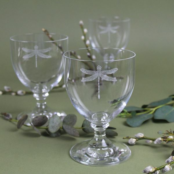 Dragonfly Wine Glasses