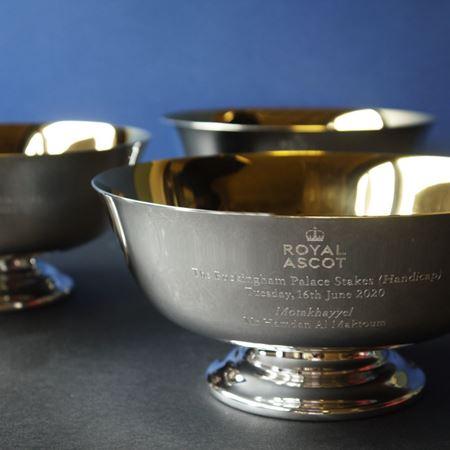Gold Plates Revere Bowl