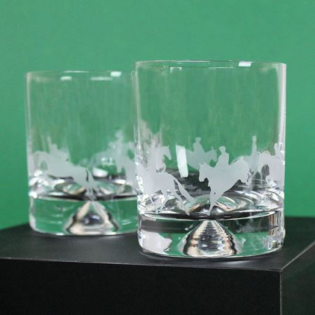 Eventing Scene Etched Tumblers