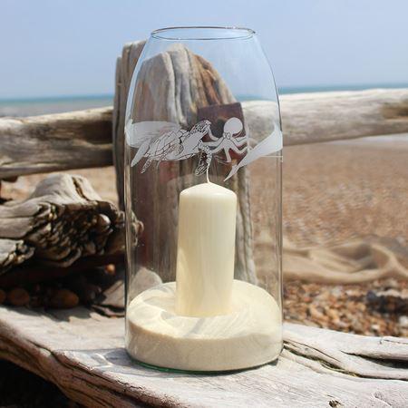 Recycled Ocean Storm Lantern
