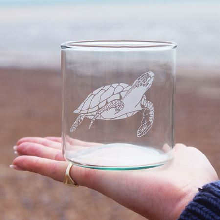 Picture of Recycled Ocean Tumbler - Whale, Octopus, Dolphin, Turtle (Set of 2)