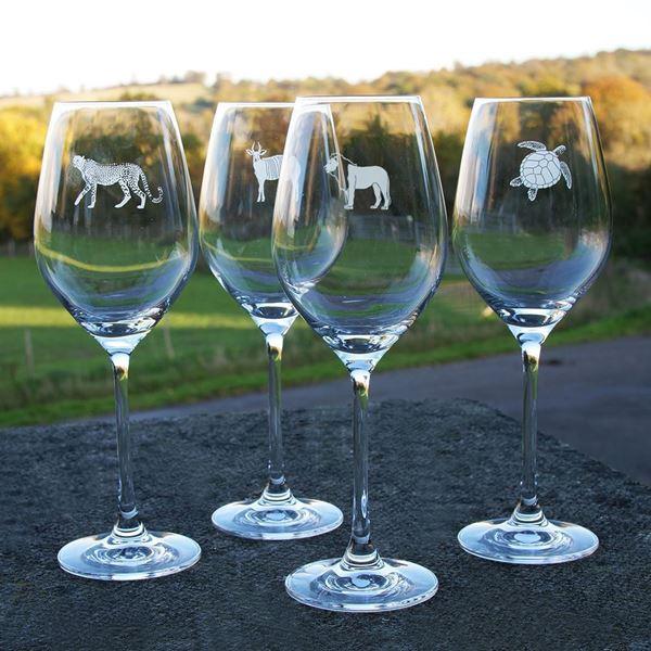Tusk Wine Glasses